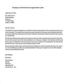 Appreciation Letter Boss Employee letter appreciation boss free amp letter appreciation boss free amp
