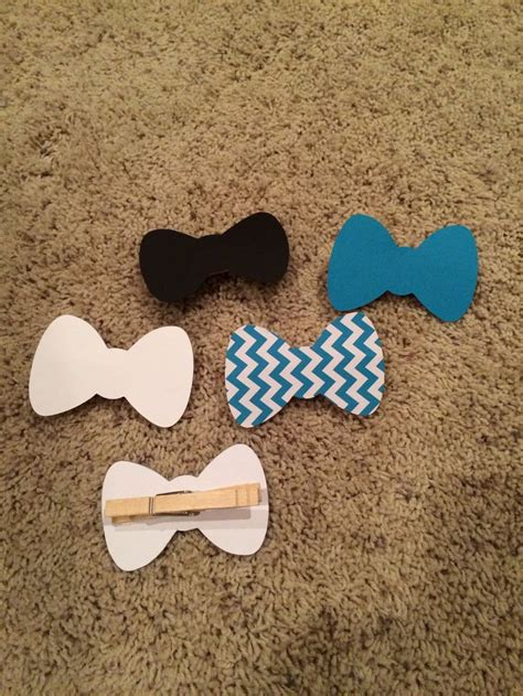 Bow Tie Baby Shower by Bow Tie Clothespin Baby Showers Bow