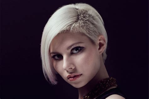 girls half shaved short hairstyles undercut hairstyles for short long hair