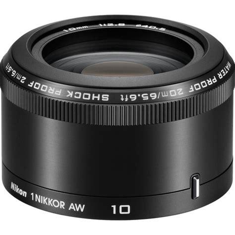 Nikon Lensa 10mm F 2 8 nikon 1 nikkor aw 10mm f 2 8 lens 3361 b h photo