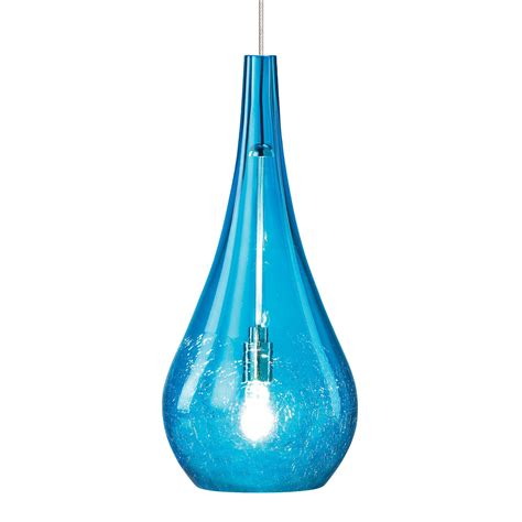 Aqua Pendant Light Lbl Lighting Hs467aq Seguro Single Light Pendant With Aqua Shade