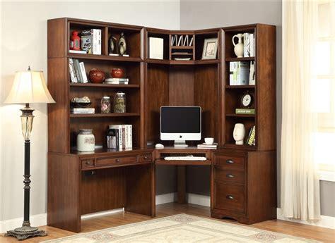 napa corner desk  piece modular corner bookcase home