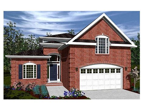 2 story narrow lot house plans 2 story house plans for narrow lots inspiration house plans 20505