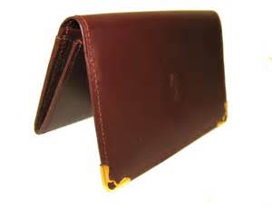 cartier business card holder cartier leather business credit card new
