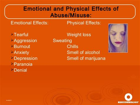 Detox Emotional Effects by Free Workplace Supervisor Presentation