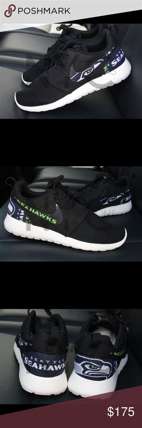 athletic shoes seattle seattle seahawks nike roshe one custom seahawks