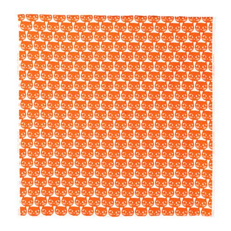 ikea fabric mattram fabric orange 150 cm ikea