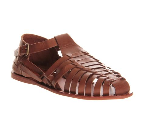sandals shoes mens mens ask the missus jimmy sandal leather sandals ebay