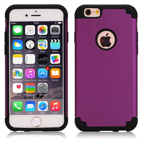 Silicon Army Iphone 6 6s heavy duty armor hybrid shockproof silicone cover for iphone 7 6s plus 5 se ebay