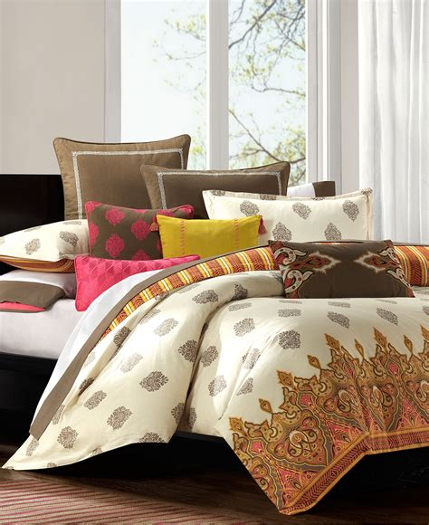 macy bedding sets closeout echo bedding raja comforter from macys