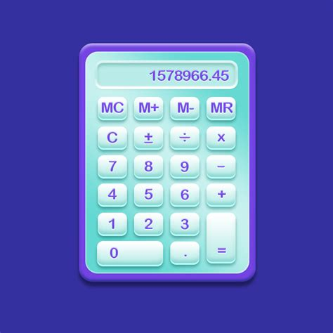 calculator ui 4 free professional calculator ui designs 2014 psd