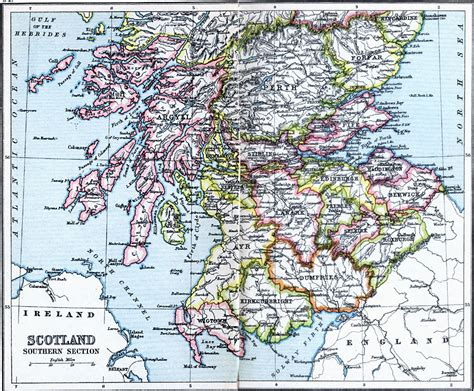 sectioned scotland scotland southern section