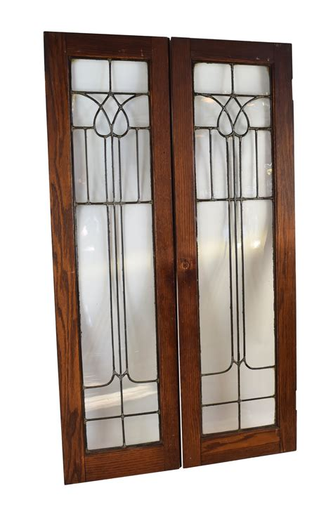 Beveled Glass Doors Beveled Glass Cabinet Doors Architectural Antiques