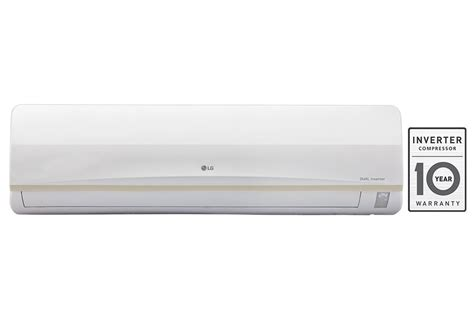 Ac Lg Dual Cool Inverter lg js q18pwxa dual inverter split 1 5 tr air conditioner