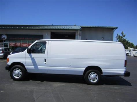 manual cars for sale 2007 ford e series auto manual purchase used 2007 ford e250 super duty cargo van extended length in oregon ohio united states