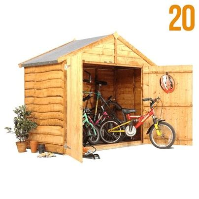 3 Bike Storage Shed by The Billyoh Bike Storage Shed 3 X 6 What Shed