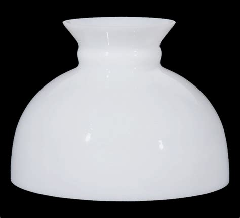 10 inch student glass l shade milk white glass l shade 10 in student kerosene oil