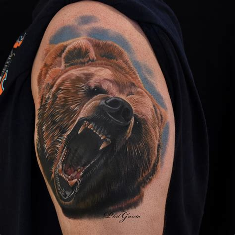 grizzly bear tattoos designs grizzly best ideas gallery