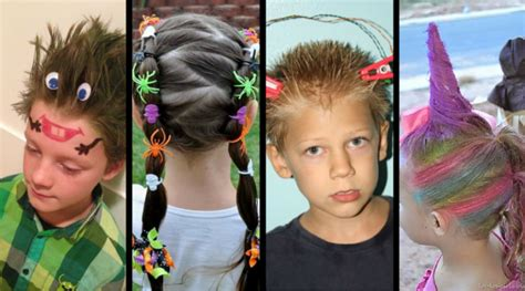 ideas  crazy hair day  school stay  home mum