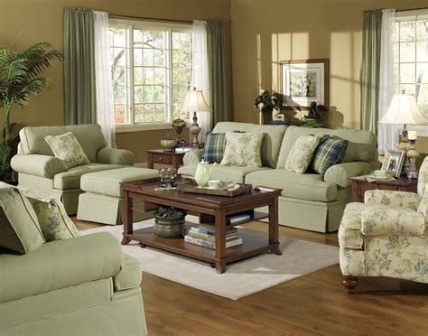 westport fabric sleeper sofa westport 2 sleeper sofa set in olive gingham check