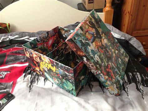 Comic Book Decoupage - comic book box decoupage decoupage