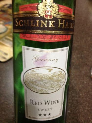 schlink haus wine sweet schlink haus sweet wine info