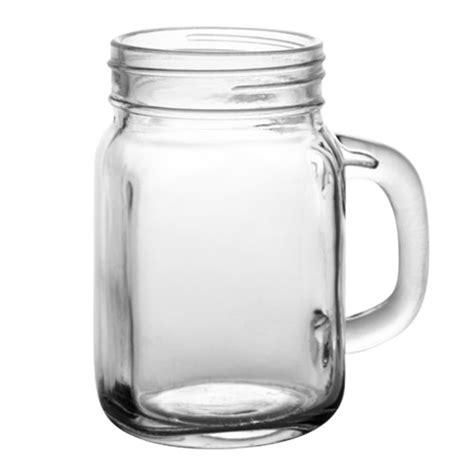 BarConic® Glassware   12 ounce Mason Jar Mug