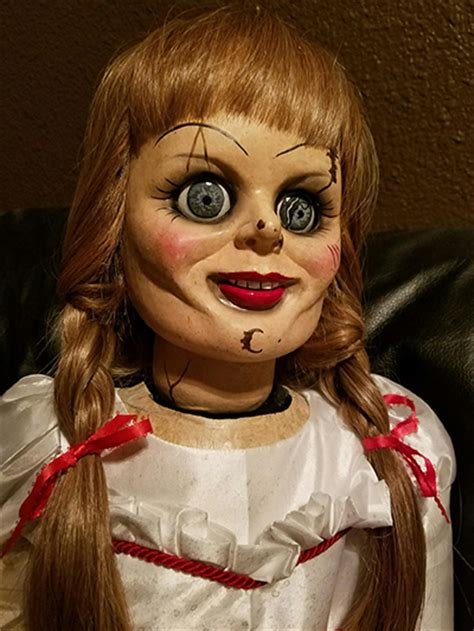 annabelle doll for sale ebay the conjuring 2 animatronic annabelle haunted horror prop