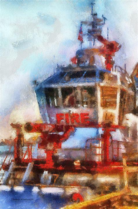 fire boat san pedro lafd fire boat 2 san pedro ca photo art 02 photograph by