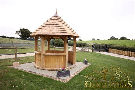 circular gazebo oak gazebo oakmasters