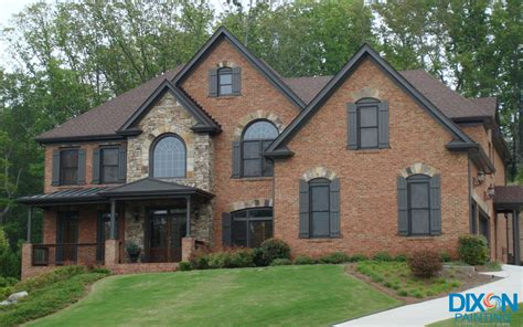 windows painted gray interior and exterior painter in marietta ga dixon painting