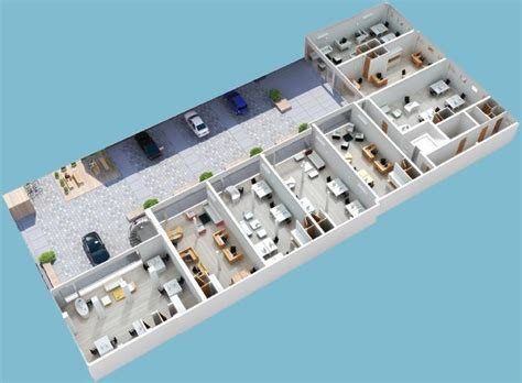 Home Plan 3d 3d Floor Plans 3d Floor Plan Axonometric Plans Floor