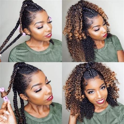 how to roll braid hair how to curl your hair without heat no heat curls tutorials