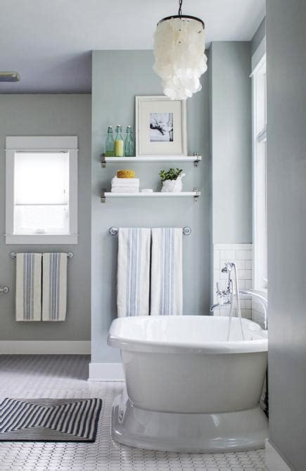 soothing bathroom paint colors house tour lake house effect midwest living