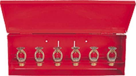 spare sprinkler storage cabinet sprinkler test equipment storage cabinet guardian