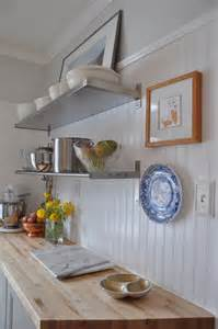 Beadboard Backsplash In Kitchen Beadboard Backsplash Kitchen Mountain Home Pinterest