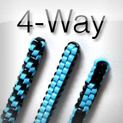 rubber sting ideas the classic quot four way quot scoubi doggle aka scoubidou