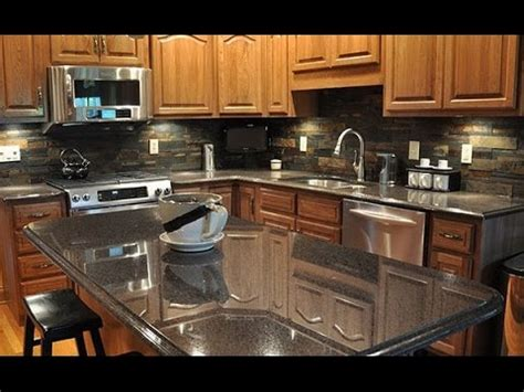 ideas for kitchen countertops and backsplashes backsplash ideas for granite countertops