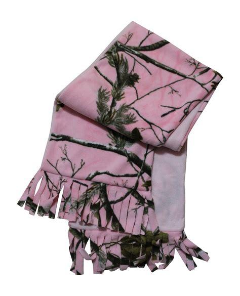 Coat Gv Peacy realtree pink camo fleece scarf camo chique