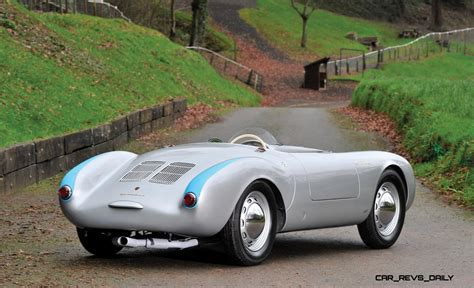 porsche 550 spyder this 1955 porsche 550 spyder is worth 4k per pound