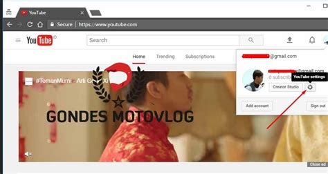 membuat channel youtube cara membuat channel youtube motovlogger dan menambah