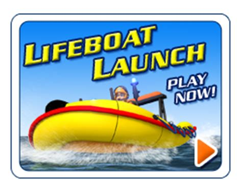 games online - Fireman Sam Boat Launch Game