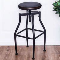 Whalen Brown Adjustable Stool by Whalen Brown 28 In Adjustable Kitchen Stool At Lowe S On