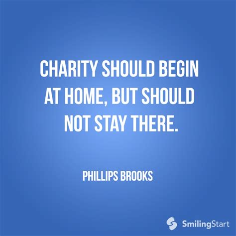 charity should begin at home but should by phillips
