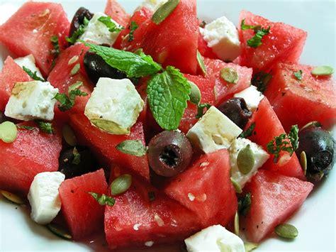 watermelon feta salad recipe dishmaps