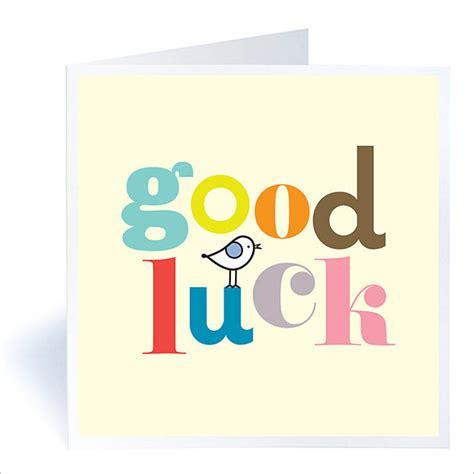 good luck card templates psd eps  premium