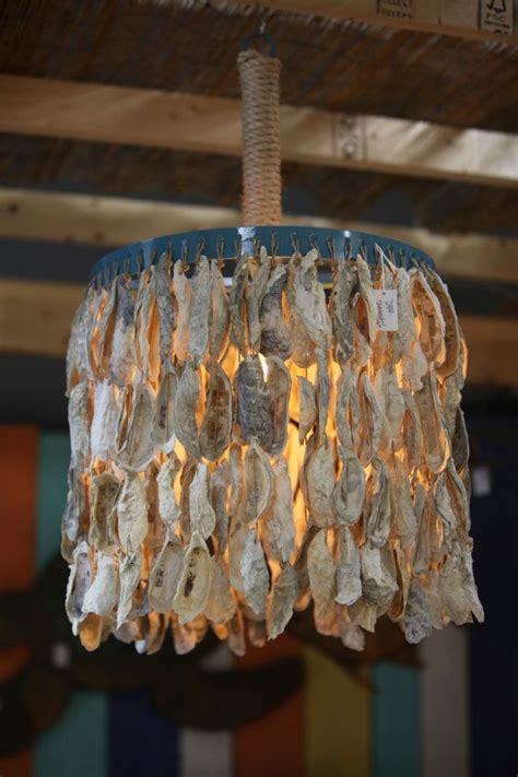 oyster shell chandelier ideas homesfeed