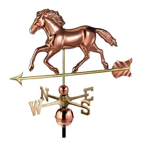 horse and sulky weathervane copper with directions mid to good directions smithsonian running horse weathervane