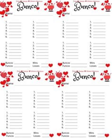 free bunco cards templates farkle score sheet printable farkle scoring cards