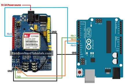 tutorial arduino gprs shield sim900 gsm gprs shield with arduino random nerd tutorials
